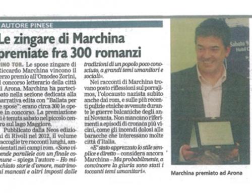Corriere di Chieri – 15/11/2013