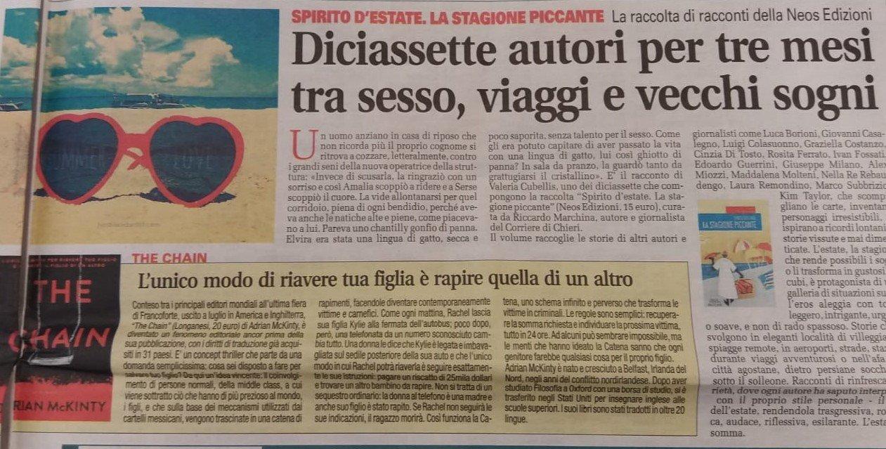 CronacaQui - La stagione piccante - Riccardo Marchina